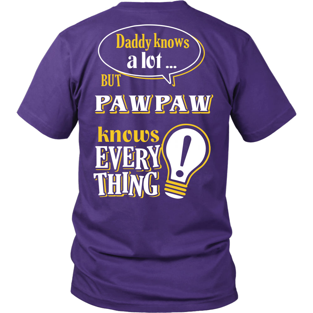 Pawpaw Knows More T-Shirt -  Pawpaw Shirt - TeeAmazing