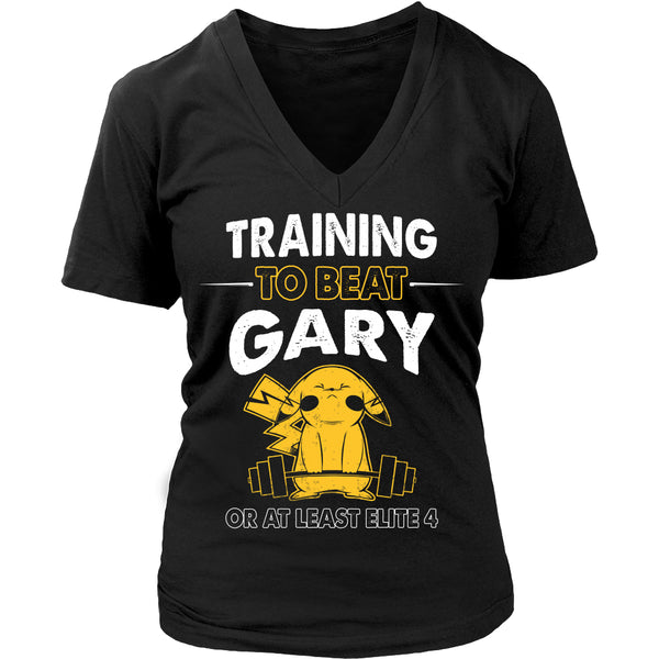 Training To Beat GARY T Shirts, Tees & Hoodies -  Pokemon Shirts - TeeAmazing - 13