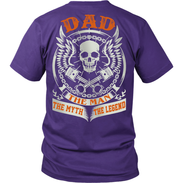 DAD The Man The Myth The Legend T Shirts, Tees & Hoodies - Dad Shirts - TeeAmazing - 2