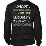 Grumpy Knows Everything T-Shirt -  Grumpy Shirt - TeeAmazing