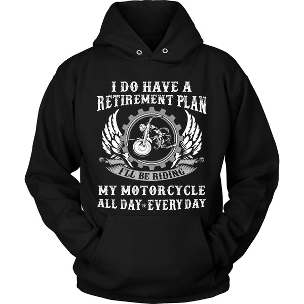 Retirement Motorcycle T-Shirt - Motorcycle Shirt - TeeAmazing