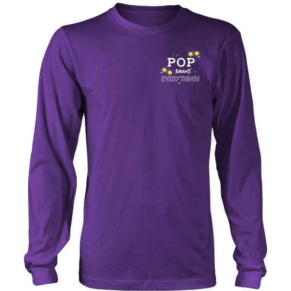 POP Knows Everything T-Shirt -  POP Shirt - TeeAmazing