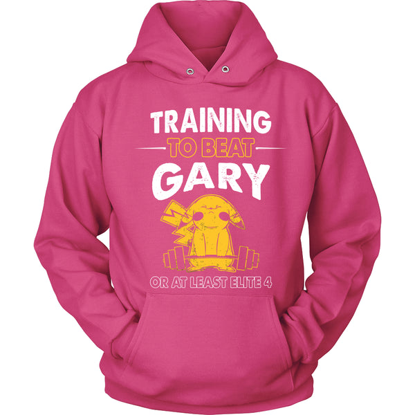 Training To Beat GARY T Shirts, Tees & Hoodies -  Pokemon Shirts - TeeAmazing - 8