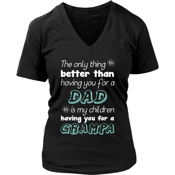 My Children Having You For A Grampa T Shirts, Tees & Hoodies - Grandpa Shirts - TeeAmazing - 13
