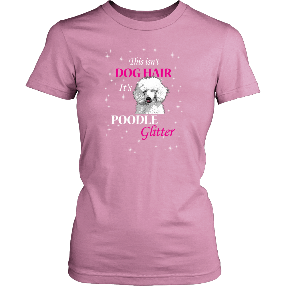 Poodle Glitter Dog T Shirts, Tees & Hoodies - Poodle Shirts - TeeAmazing