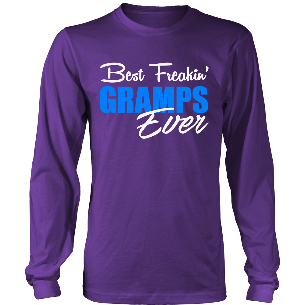 Best Freakin' Gramps Ever T Shirts, Tees & Hoodies - Grandpa Shirts - TeeAmazing
