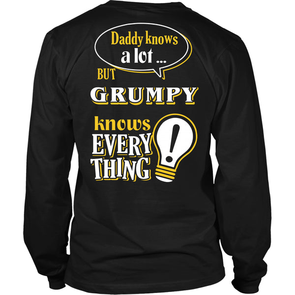 Grumpy Knows More T-Shirt -  Grumpy Shirt - TeeAmazing - 14