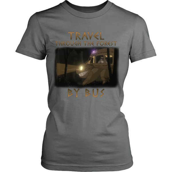 Travel Through The Forest By Bus T Shirts, Tees & Hoodies - Totoro Shirts - TeeAmazing - 11