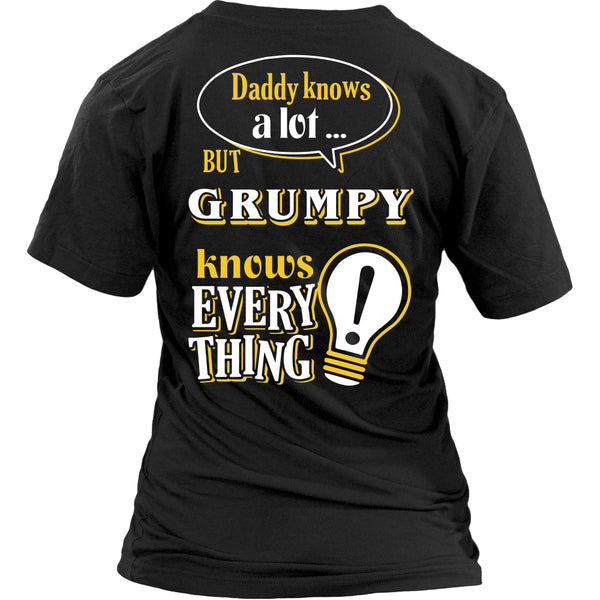Grumpy Knows More T-Shirt -  Grumpy Shirt - TeeAmazing - 26