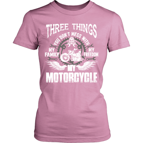 Three Things...My Motorcycle T-Shirt - Motorcycle Shirt - TeeAmazing - 11