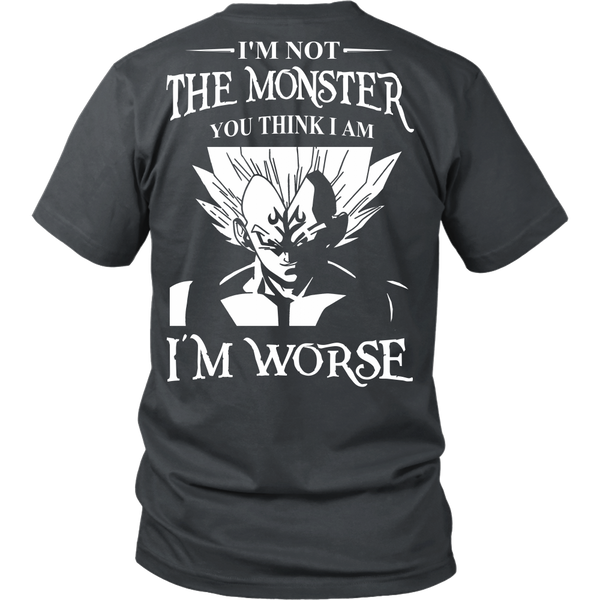 I'm Not The Monster You Think I Am T Shirts, Tees & Hoodies - Dragonball Shirts - TeeAmazing - 4