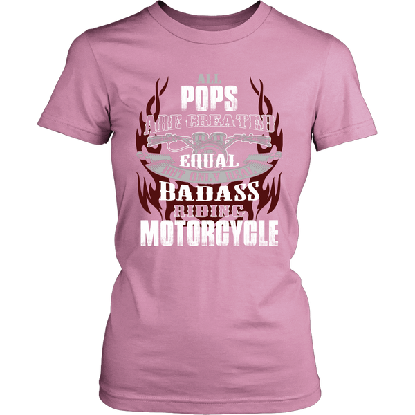 Created Equal Pops Motorcycle T-Shirt - Pops Motorcycle Shirt - TeeAmazing - 11