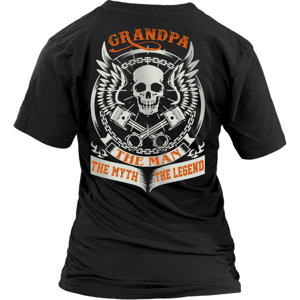 Grandpa The Man The Myth The Legend T Shirts, Tees & Hoodies - Grandpa Shirts - TeeAmazing - 13