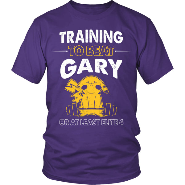 Training To Beat GARY T Shirts, Tees & Hoodies -  Pokemon Shirts - TeeAmazing - 2