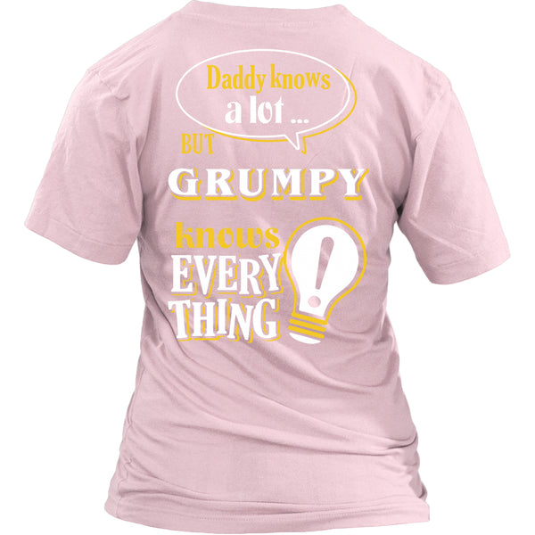 Grumpy Knows More T-Shirt -  Grumpy Shirt - TeeAmazing - 24