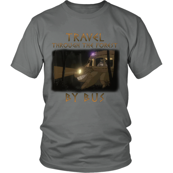 Travel Through The Forest By Bus T Shirts, Tees & Hoodies - Totoro Shirts - TeeAmazing - 3