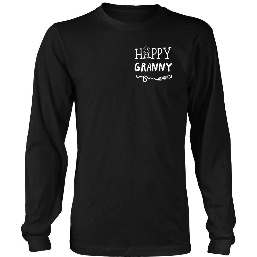 Happiness is Being Granny T-Shirt - Granny Shirt - TeeAmazing