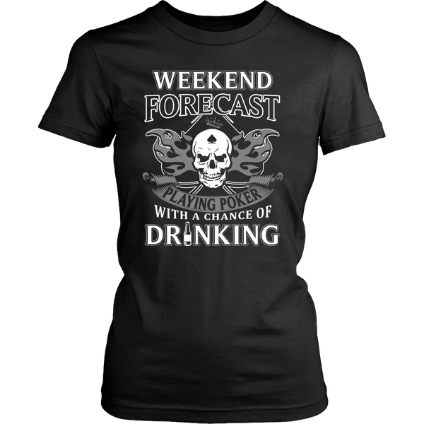 Playing Poker with Drinking T Shirts, Tees & Hoodies - Poker Shirts - TeeAmazing - 9