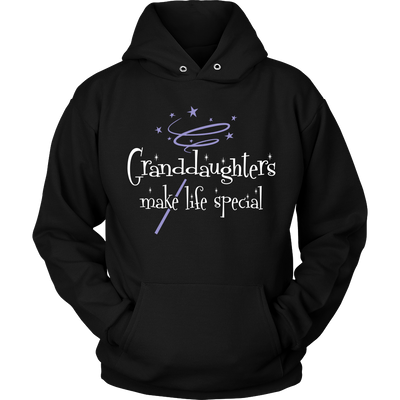 Granddaughters Make Life Special T Shirts, Tees & Hoodies - Grandma Shirts - TeeAmazing