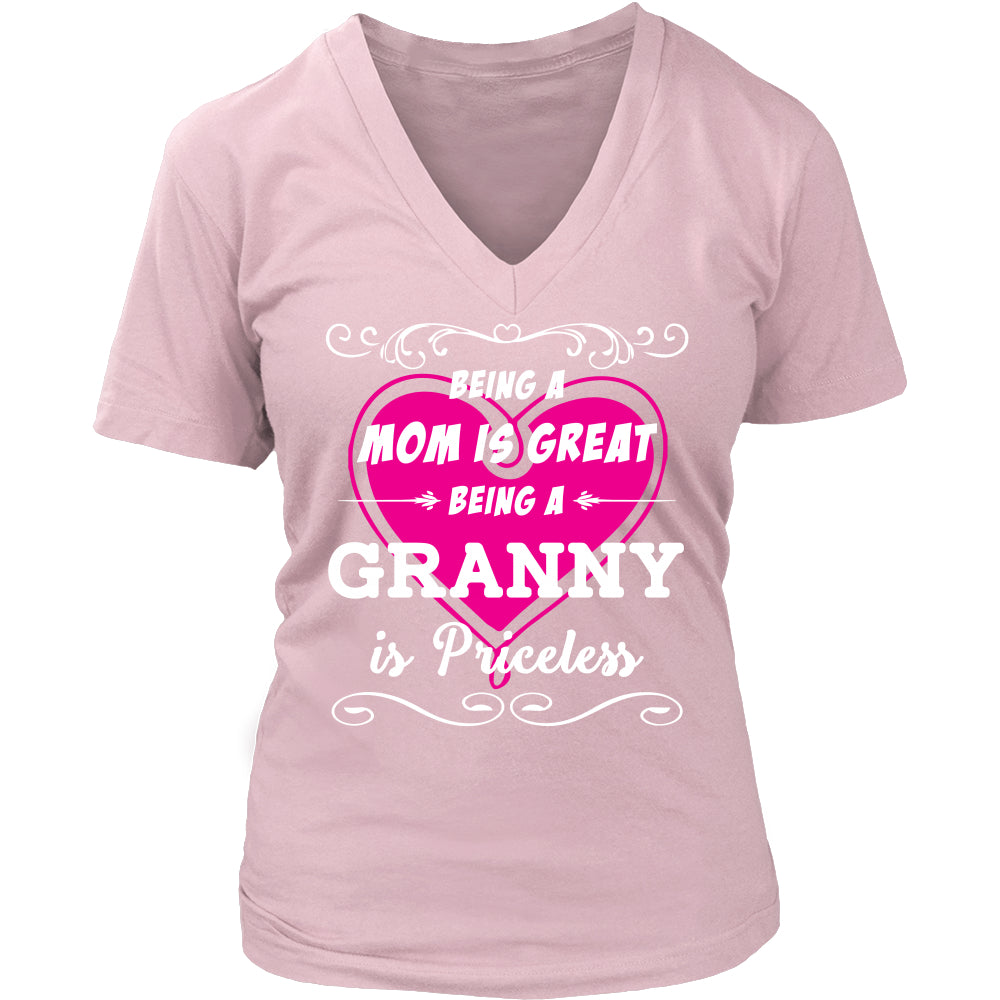 Being Granny Mom Is Priceless T-Shirt - Granny Shirt - TeeAmazing