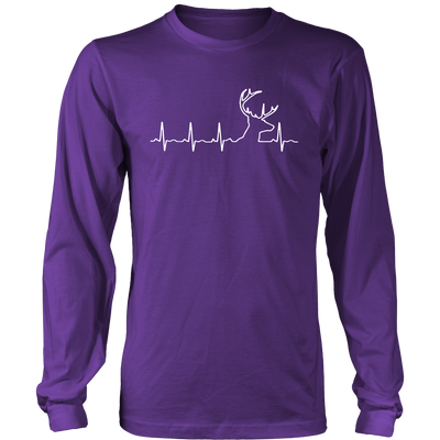 Hunting Heartbeat T-Shirt - Hunting Shirt - TeeAmazing