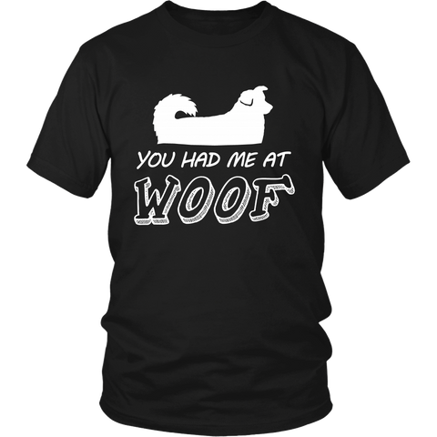 You Had Me At Woof T Shirts, Tees & Hoodies - Australian Shepherd Shirts - TeeAmazing - 1