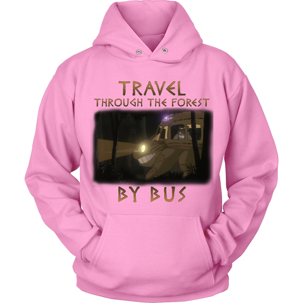 Travel Through The Forest By Bus T Shirts, Tees & Hoodies - Totoro Shirts - TeeAmazing - 9