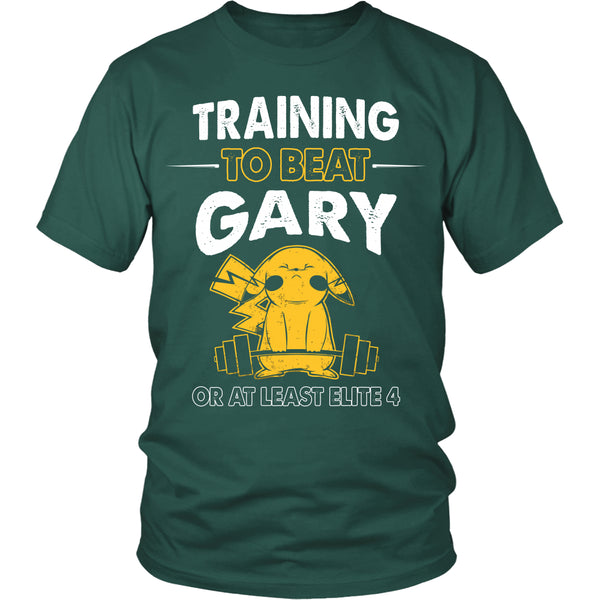 Training To Beat GARY T Shirts, Tees & Hoodies -  Pokemon Shirts - TeeAmazing - 3