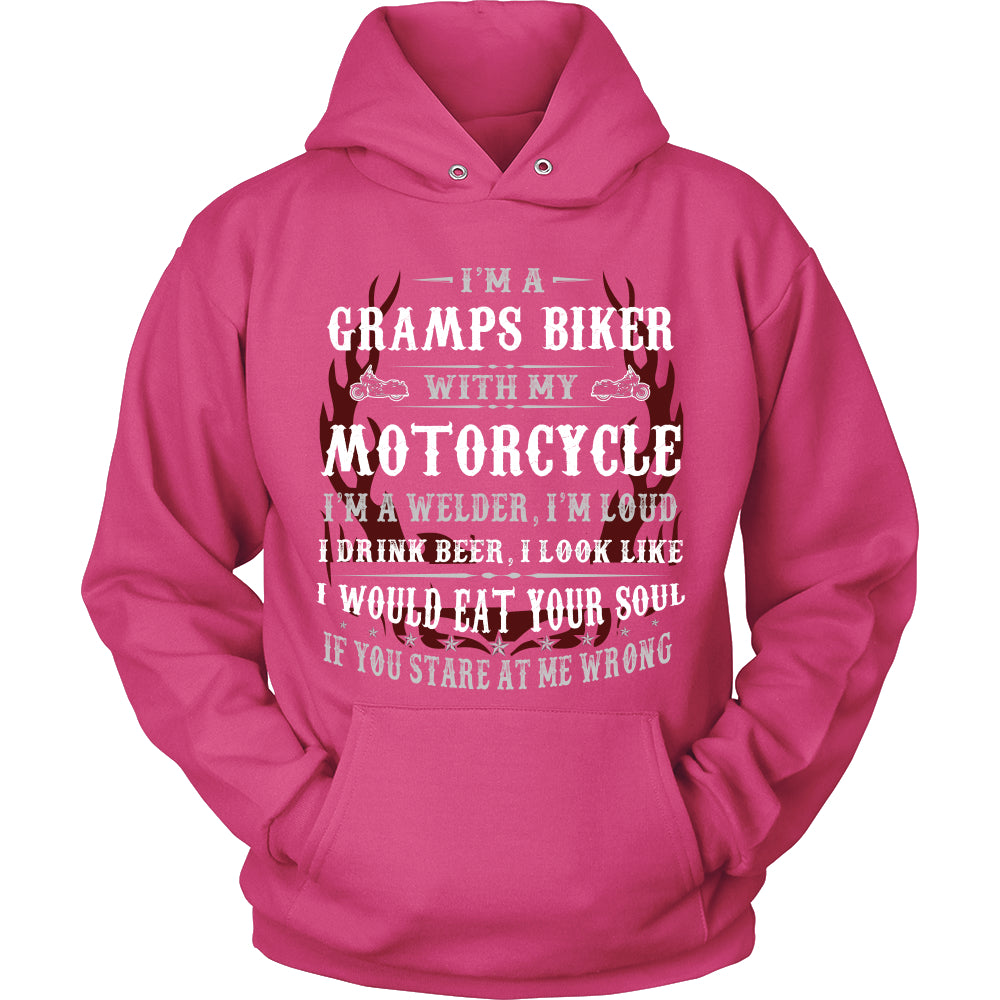 They Call Me Gramps Motorcycle T-Shirt - Gramps Motorcycle Shirt PC78H