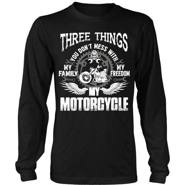 Three Things...My Motorcycle T-Shirt - Motorcycle Shirt - TeeAmazing - 8