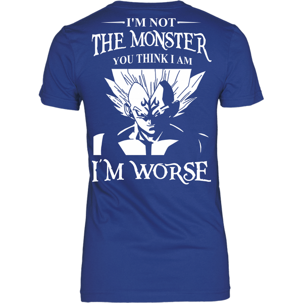 I'm Not The Monster You Think I Am T Shirts, Tees & Hoodies - Dragonball Shirts - TeeAmazing - 11