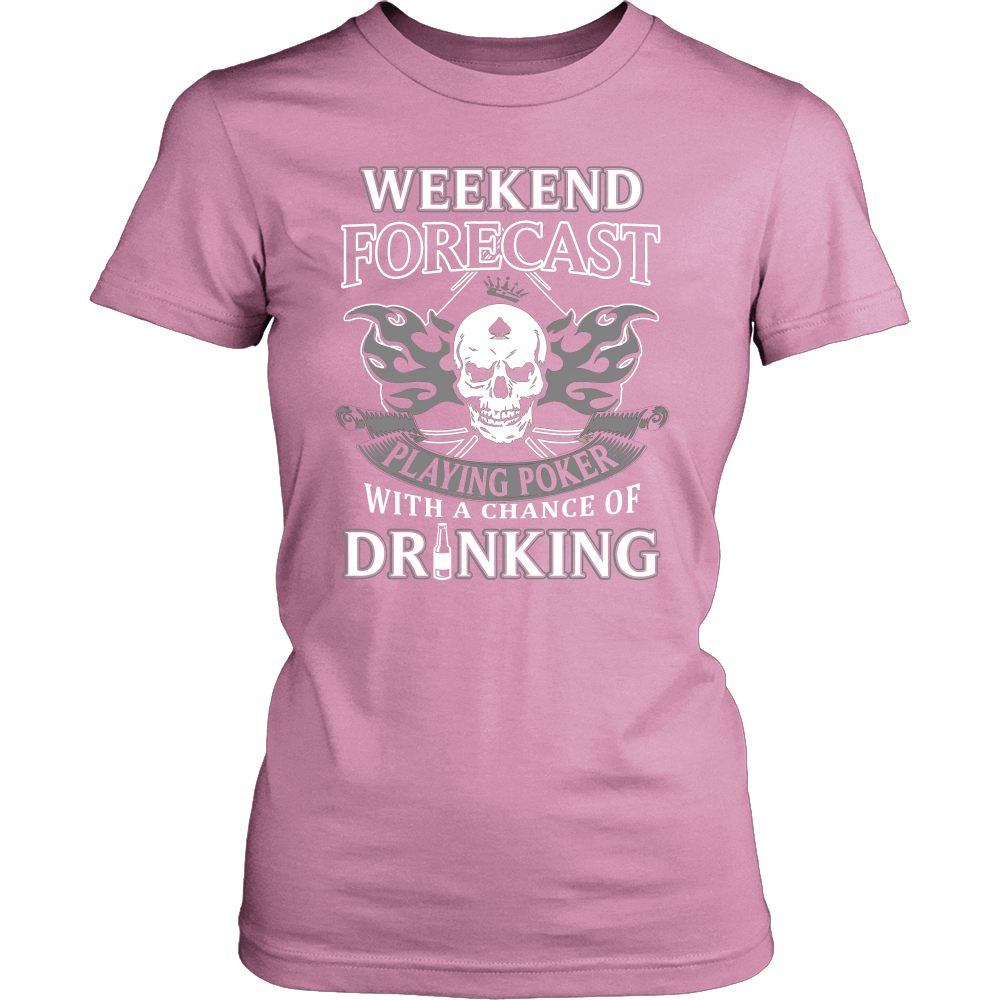 Playing Poker with Drinking T Shirts, Tees & Hoodies - Poker Shirts - TeeAmazing