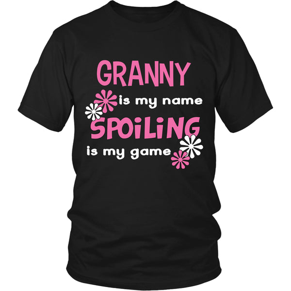 Granny Is My Name... T-Shirt - Granny Shirt - TeeAmazing - 5