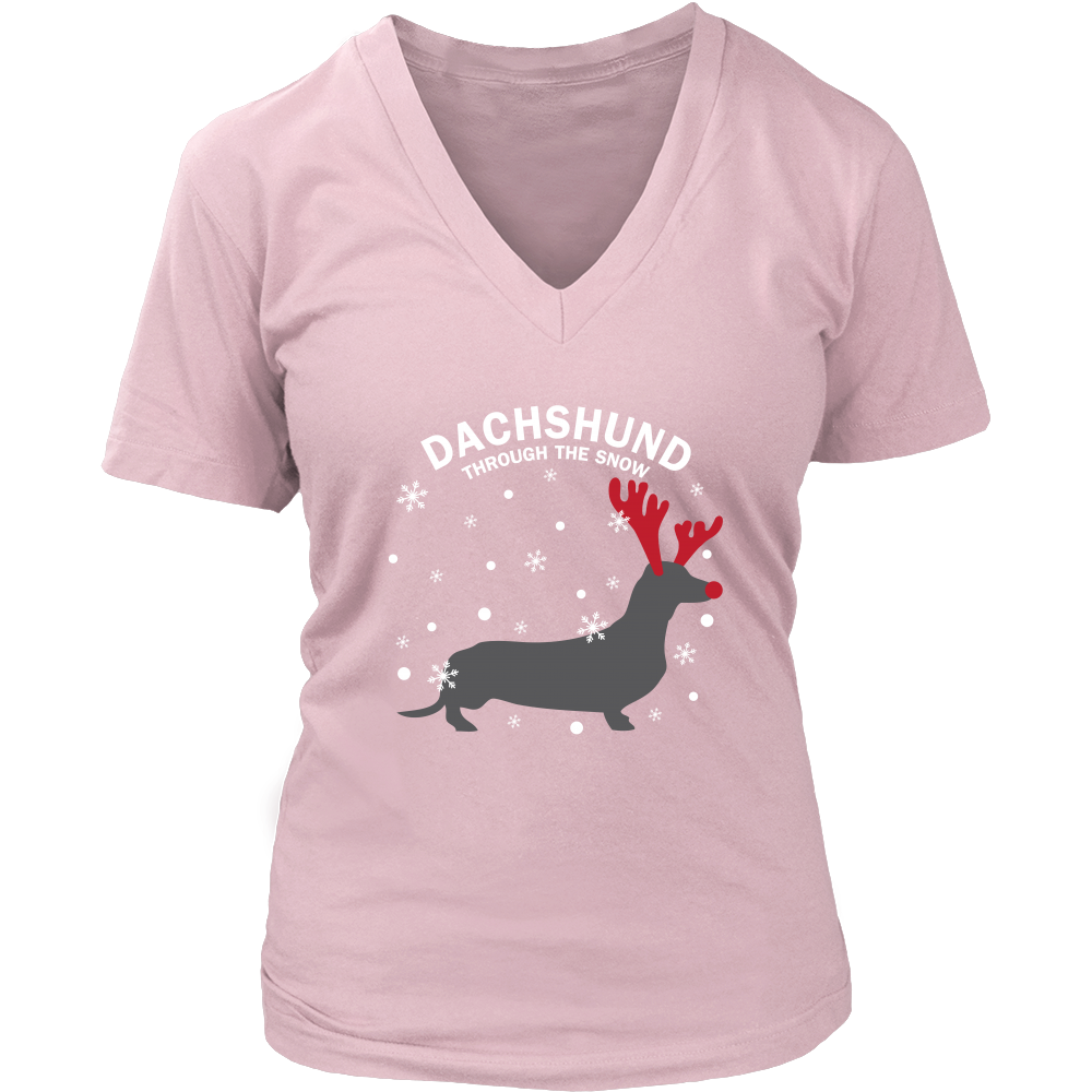 Dachshund The Snow Dog T Shirts, Tees & Hoodies - Dachshund Shirts - TeeAmazing
