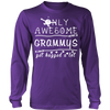 Only Awesome Grammy Get Hugged A Lot T-Shirt -  Grammy Shirt - TeeAmazing - 11