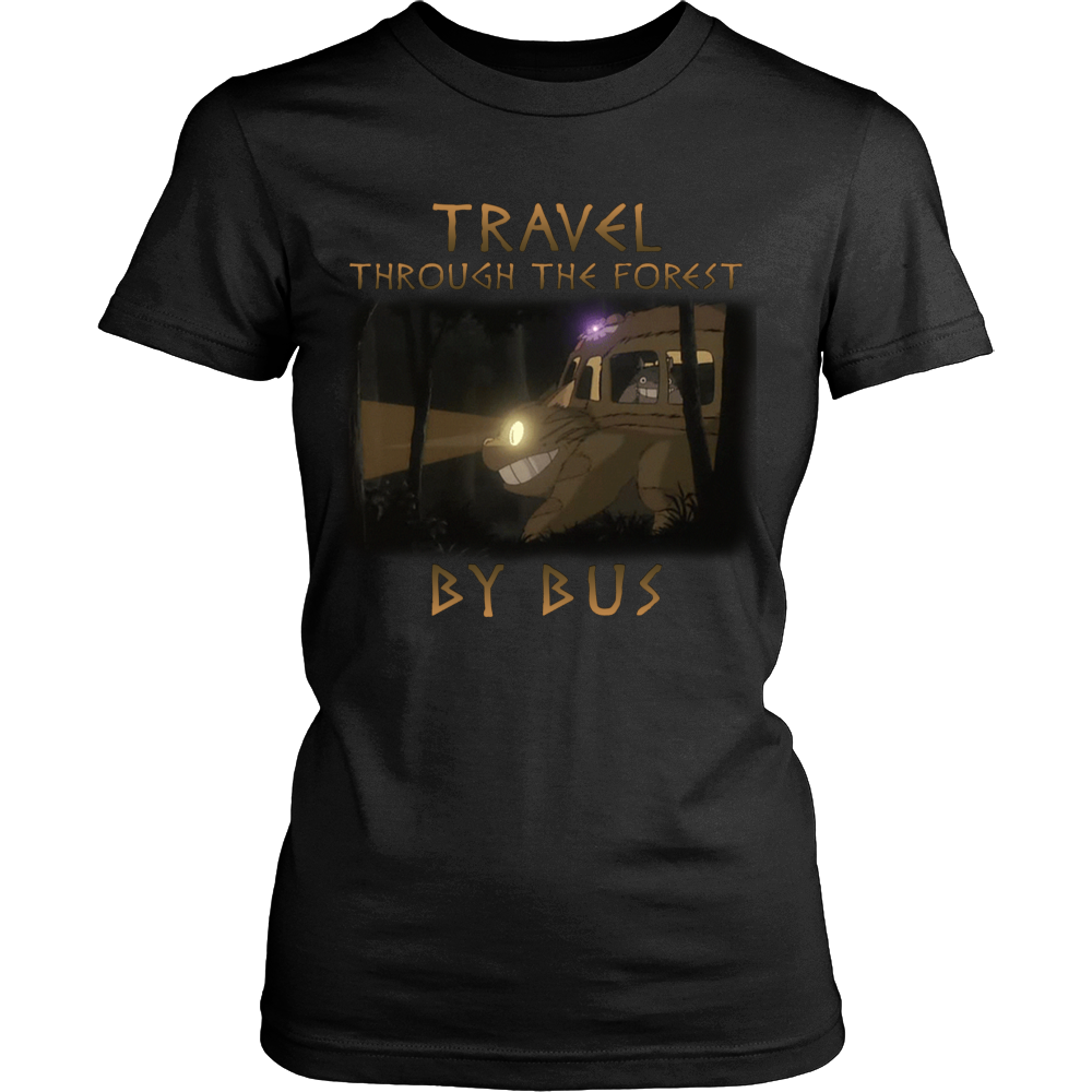Travel Through The Forest By Bus T Shirts, Tees & Hoodies - Totoro Shirts - TeeAmazing