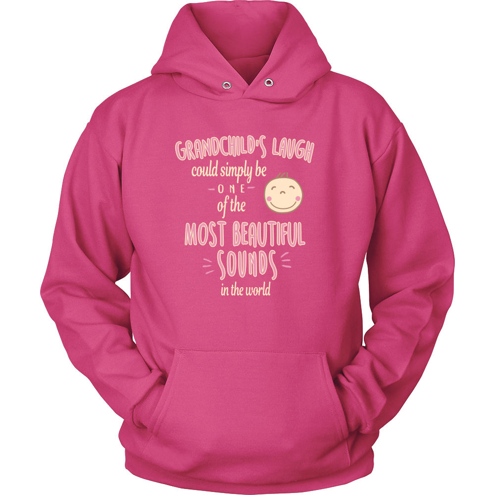 Grandchild's Laugh T Shirts, Tees & Hoodies - Grandma Shirts - TeeAmazing