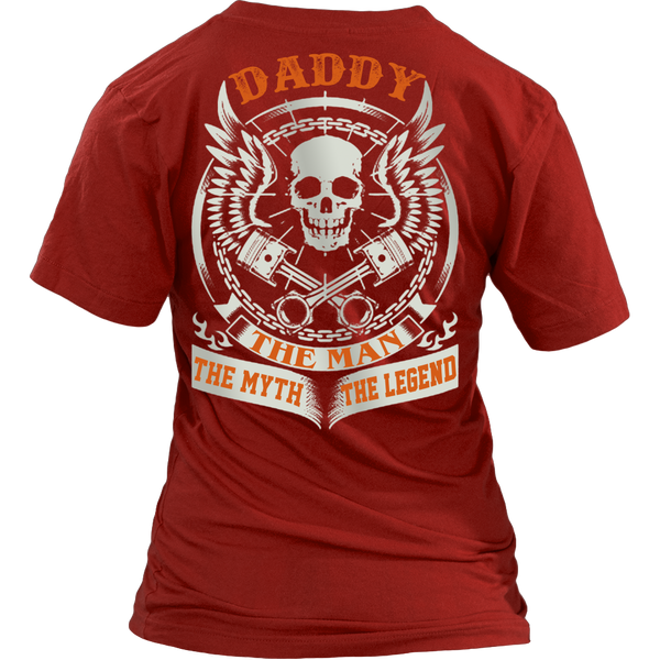 DADDY The Man The Myth The Legend T Shirts, Tees & Hoodies - Dad Shirts - TeeAmazing - 12