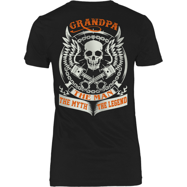 Grandpa The Man The Myth The Legend T Shirts, Tees & Hoodies - Grandpa Shirts - TeeAmazing - 9