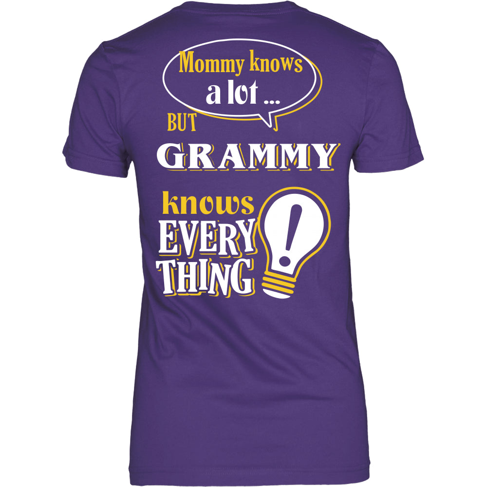Grammy Knows More T-Shirt -  Grammy Shirt - TeeAmazing
