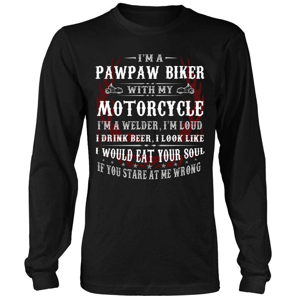 They Call Me Pops Motorcycle T-Shirt - Pops Motorcycle Shirt DT5200