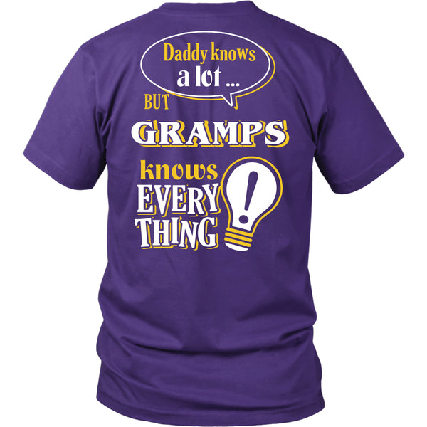 Gramps Knows More T-Shirt -  Gramps Shirt - TeeAmazing - 4