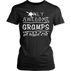 Only Awesome Gramps Get Hugged A Lot T Shirts, Tees & Hoodies - Grandpa Shirts - TeeAmazing - 17