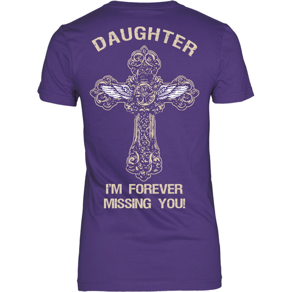 I'm Forever Missing You! Daughter T-Shirt - Family Shirt - TeeAmazing - 10