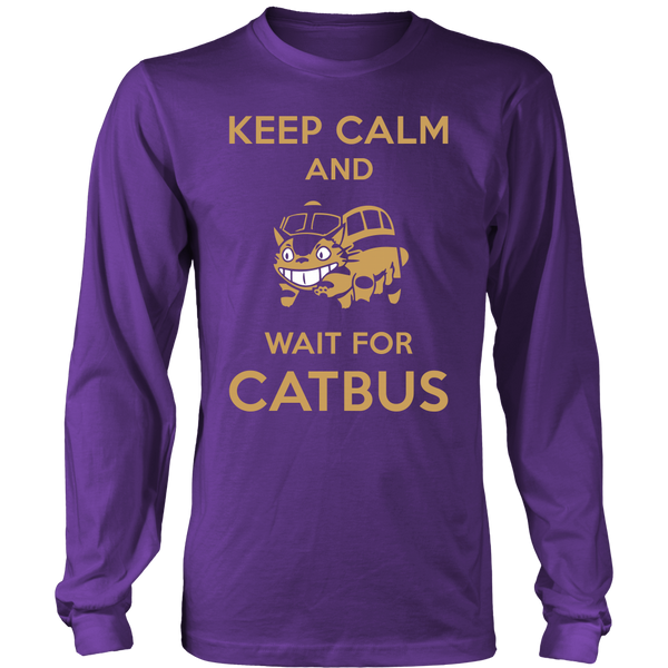 Keep Calm Catbus T Shirts, Tees & Hoodies - Totoro Shirts - TeeAmazing - 6