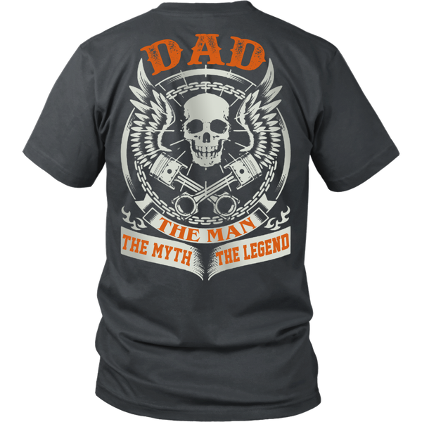 DAD The Man The Myth The Legend T Shirts, Tees & Hoodies - Dad Shirts - TeeAmazing - 4