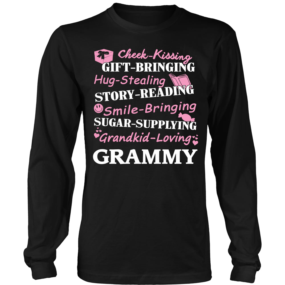 Grandkid Loving Grammy T-Shirt - Grammy Shirt - TeeAmazing