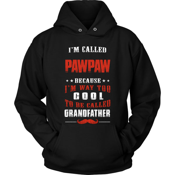 Pawpaw Way Too Cool Grandfather T-Shirt - Pawpaw Shirt - TeeAmazing - 1