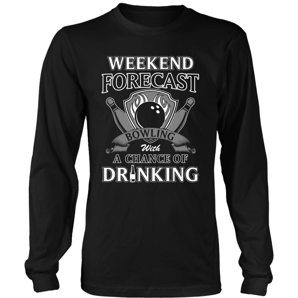 Bowling with Drinking T Shirts, Tees & Hoodies - Bowling Shirts - TeeAmazing - 6