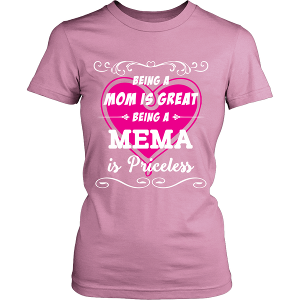 Being Mema Mom Is Priceless T-Shirt - Mema Shirt - TeeAmazing - 11